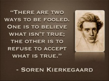 There are two ways to be fooled