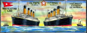 54-Olympic and Titanic