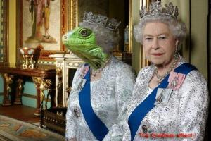 43-Reina reptil