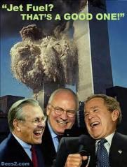 57-Donald Rumsfeld, Dick Cheney, George Bush