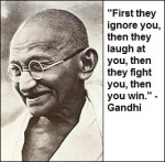 41-Gandhi - First they ignore you